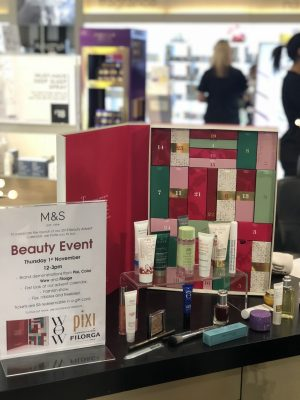M&S Beauty Advent Calendar Launch