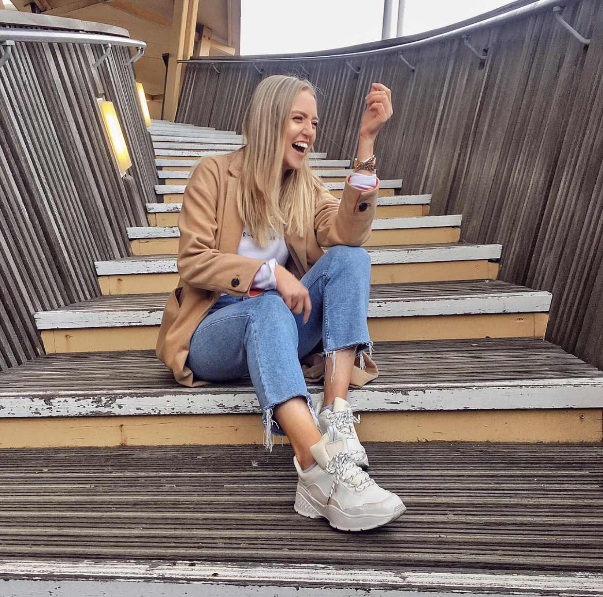 style chunky trainers? Style tips