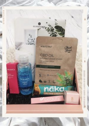 Glossybox 'Sleep and refresh' edit