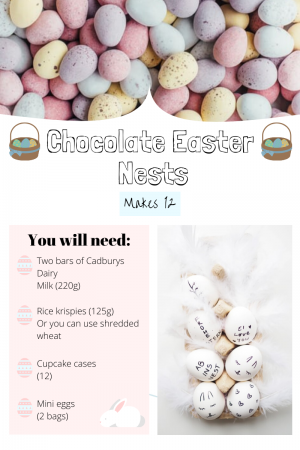 How to make the perfect chocolate nests for Easter